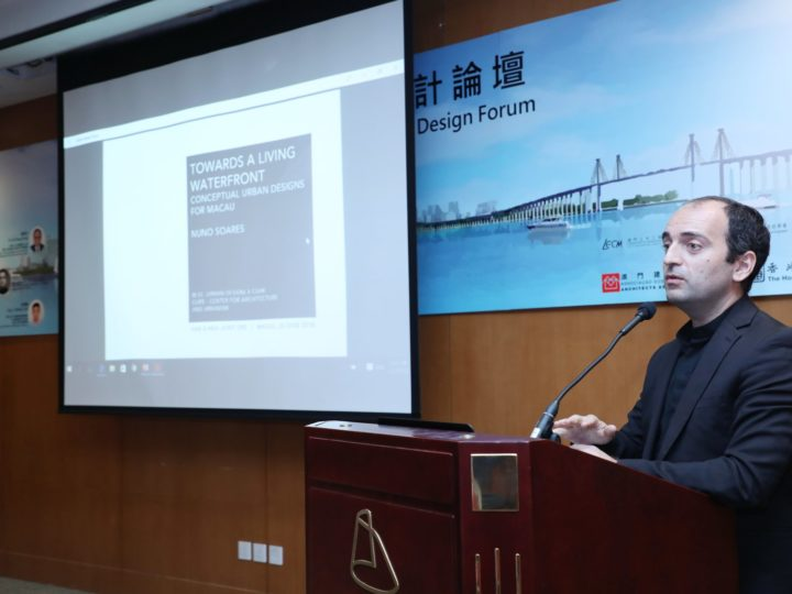 Nuno Soares speaking